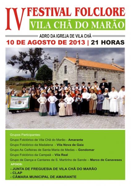 Festival folclore de Vila Chã do Marão